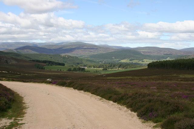 Track to Royal Lochnagar Distillery