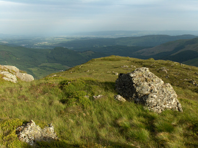 South ridge of Ardnandave Hill