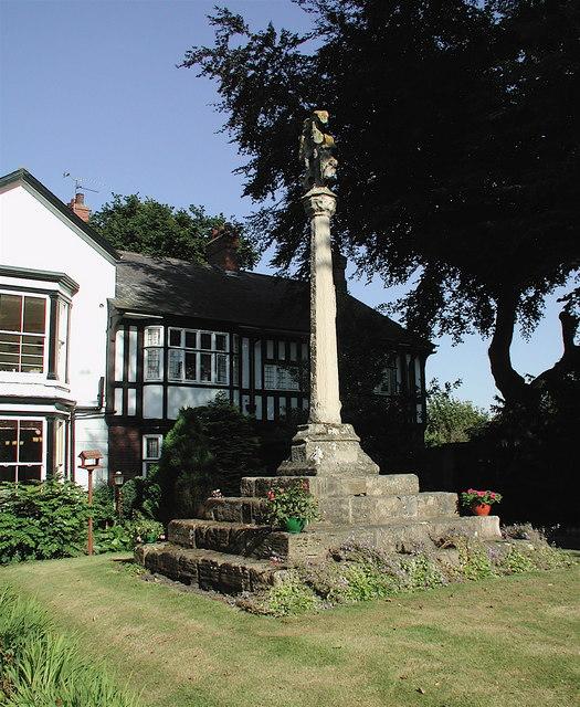 The Kilnsea Cross at Holyrood House