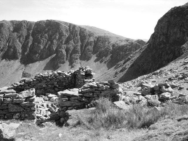Mine ruins, Dale Head