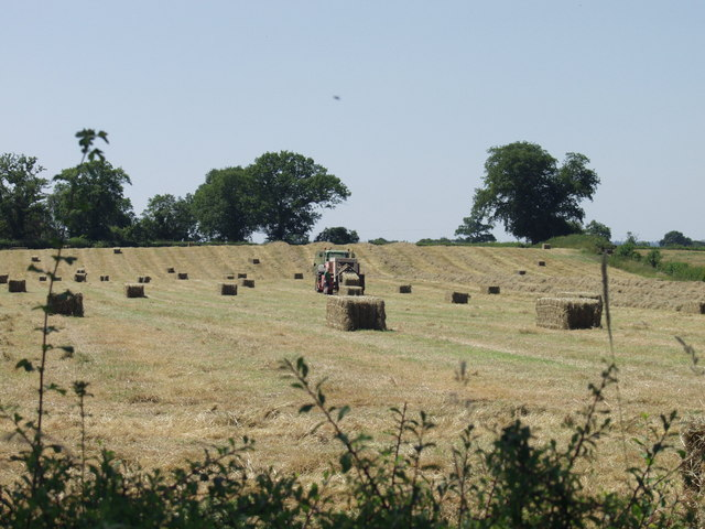 Great weather for baling hay