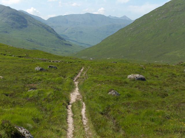 Track above Glen Kinglass