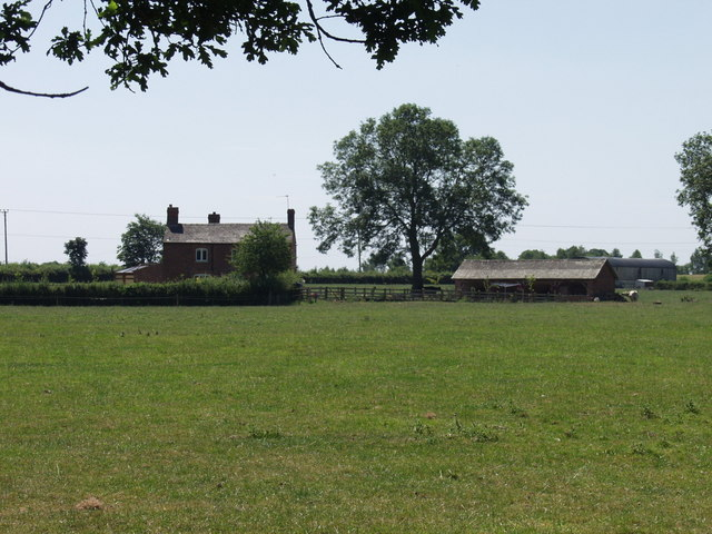 Un-named farm steading at Middleton