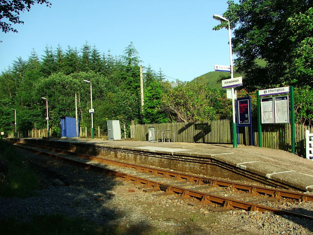 Achnashellach railway station