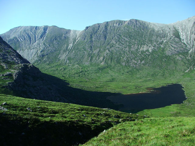 On the slopes of Sgorr Ruadh