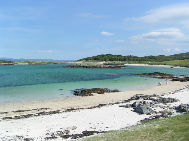 Lon Liath north of Arisaig