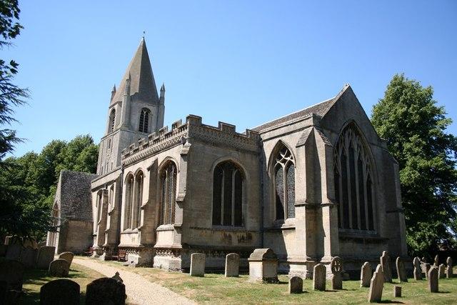 St.John the Baptist's church, Barnack