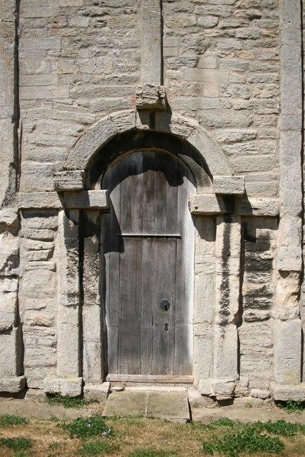 Saxon doorway