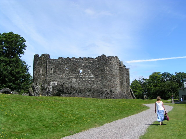 Dunstaffnage Castle north of Oban