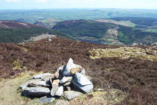 Summit cairn of Craiglwyn