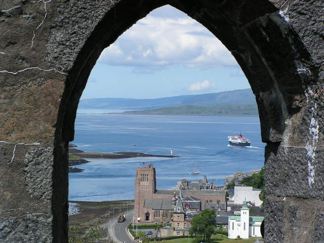 Oban Cathedral from McCaig's Tower