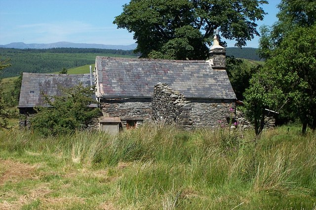 Blaen-y-buarth farmhouse