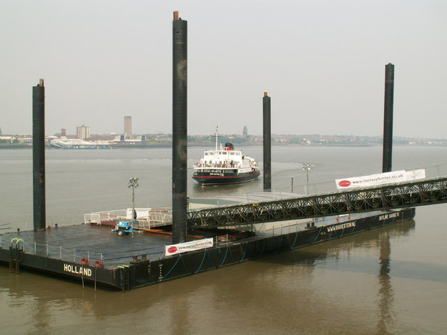Temporary landing stage
