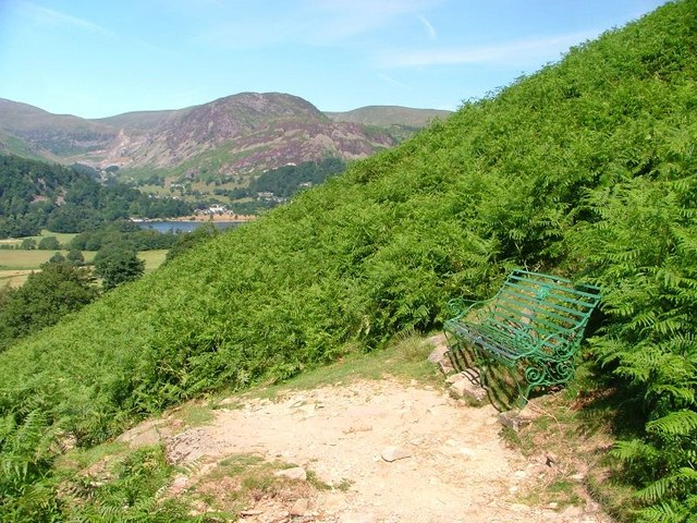 Seat, Boredale Hause Path