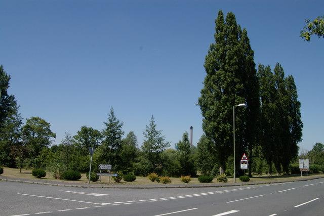 Road Junction near Bullingdon Prison