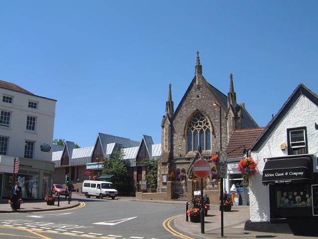 Albion Square, Chepstow