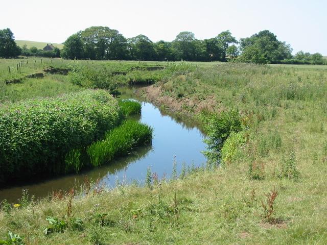 The River Seven one kilometre south of Marton