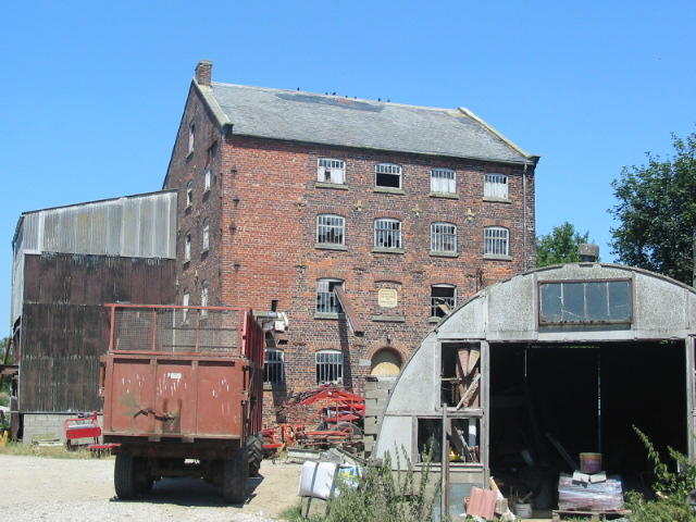 The now derelict Sinnington Grange Mill (Built 1844)