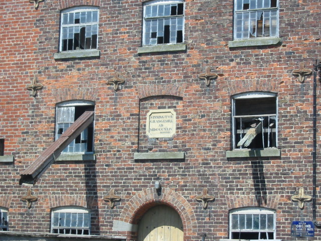 A close up view of Sinnington Grange Mill