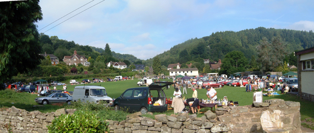 Car Boot Sale at the Anchor Field, Tintern
