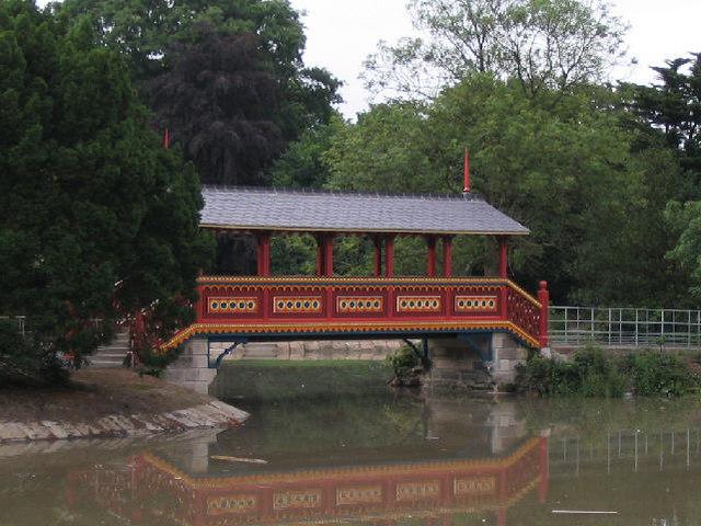 Swiss Bridge, Birkenhead Park