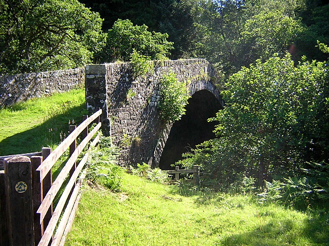 Old Bridge Over Kielder Burn