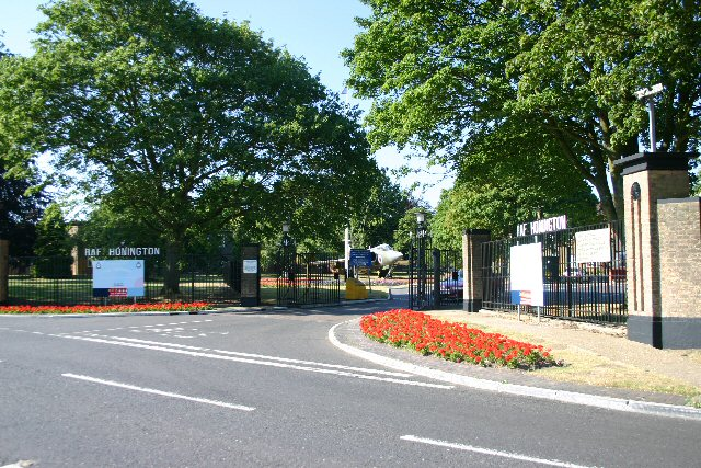 Entrance to RAF Honington