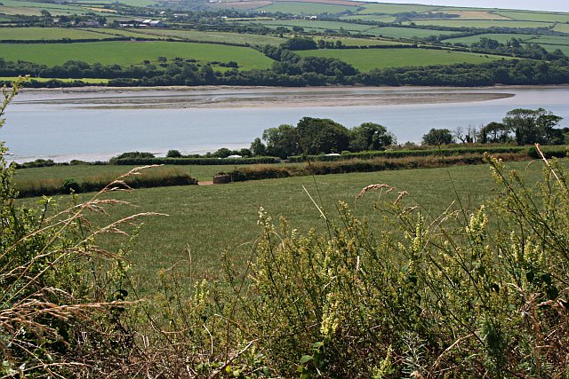 Downhill to the Camel Estuary