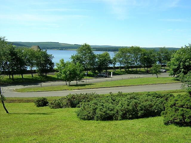Car Park at Kielder Water