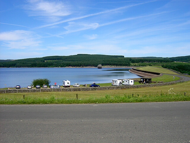 Dam at Kielder Water