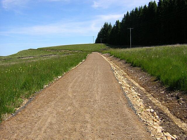 New Path on South Side of Kielder Water