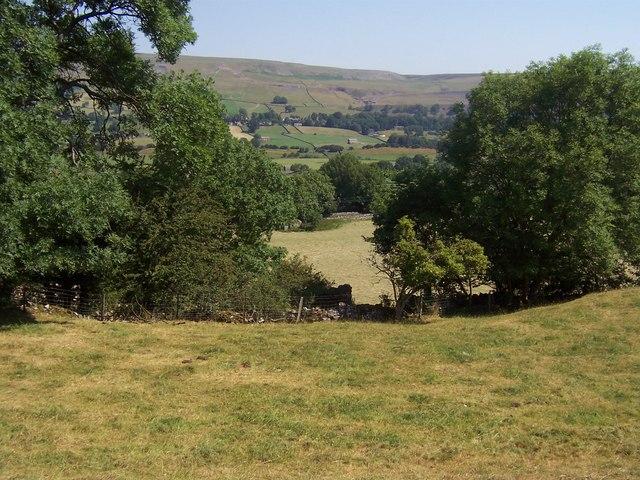 Fields below Thornton Rust