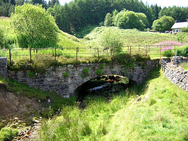 Small Bridge on Disused Railway at Kielder