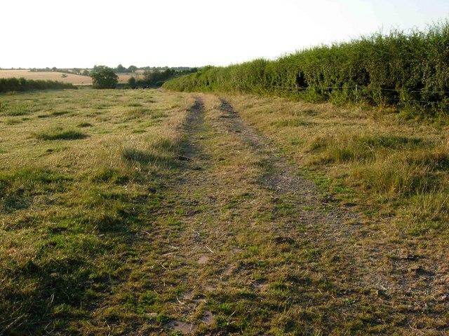 Track near Copston Magna