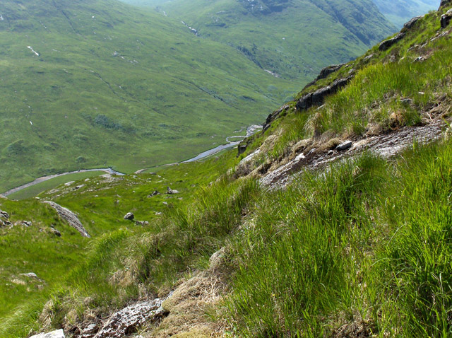 Mountainside above Glen Kinglass
