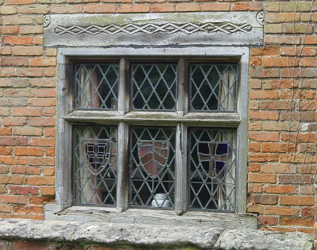 Window, Thurnham Friars