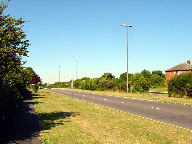 Road leading to The Mall