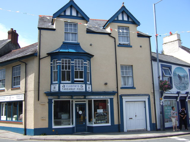 Cafe and bread shop, Fishguard Square