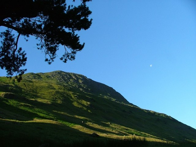 St. Sunday Crag From Elmhow Plantation