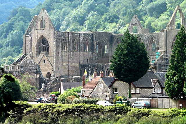 Tintern Abbey from North-northwest