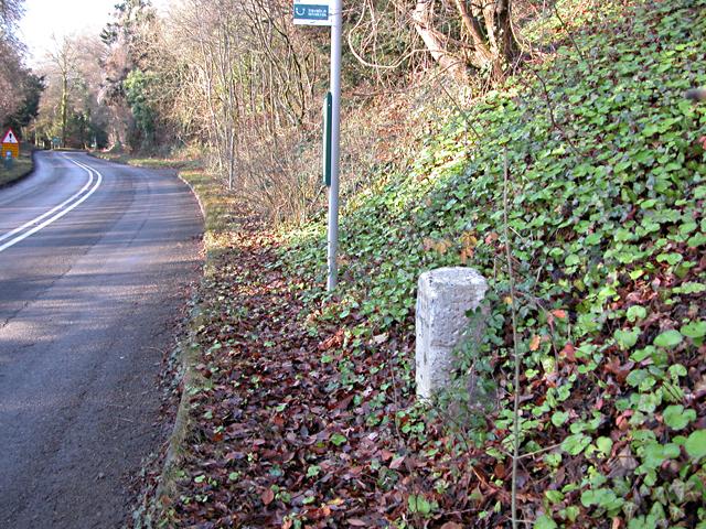 Milestone - 3 Miles to Chepstow on the A466