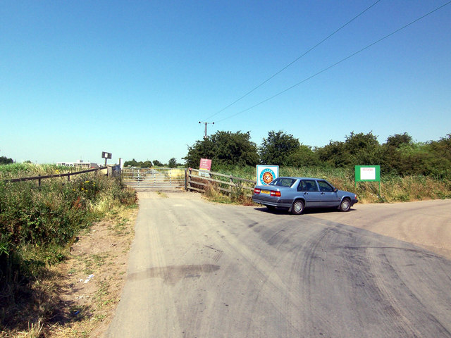 West Marsh Lane Level Crossing