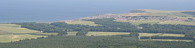 Looking north-east from the Bin of Cullen