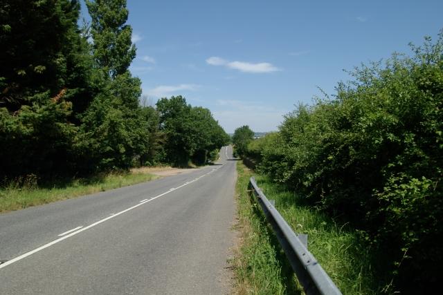 Old A30 near Nags Head Farm, Honiton