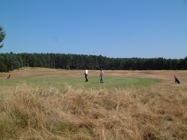 Golf Course North of Formby