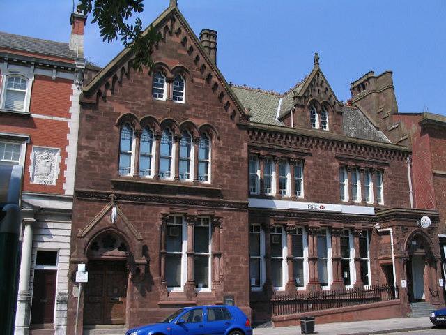 Former HSBC Bank, Hamilton St, Birkenhead