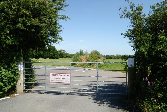 Honiton Golf Club Practice Area