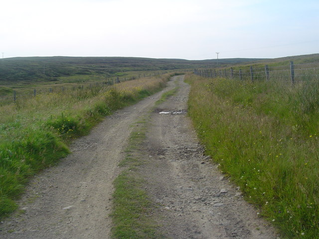 Peat Track, Outend Coll