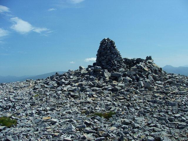 Cairn on Beinn Liath Mhor
