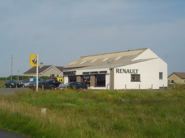 Donald Campbell Motors, Upper Coll